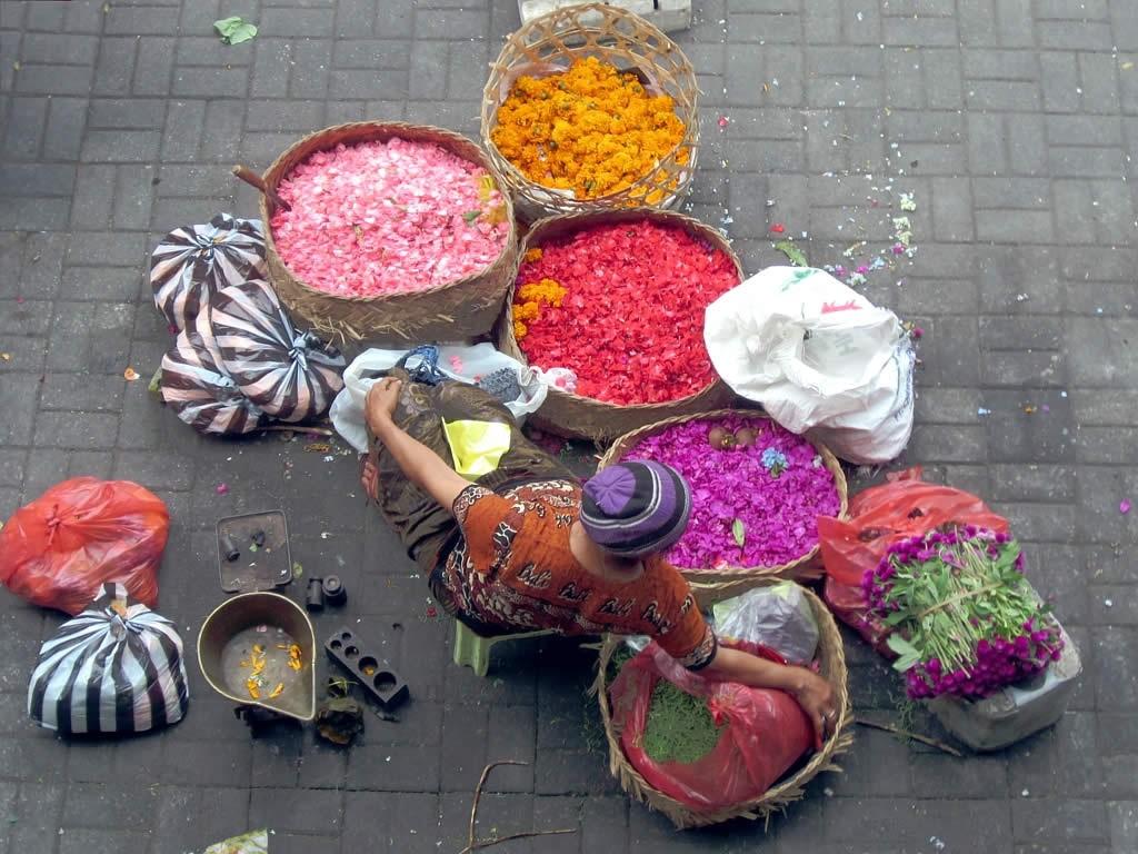 Фото торговли на острове Бали