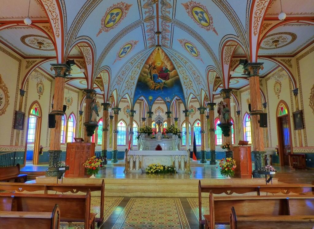 Фото церкви на Коста-Рике