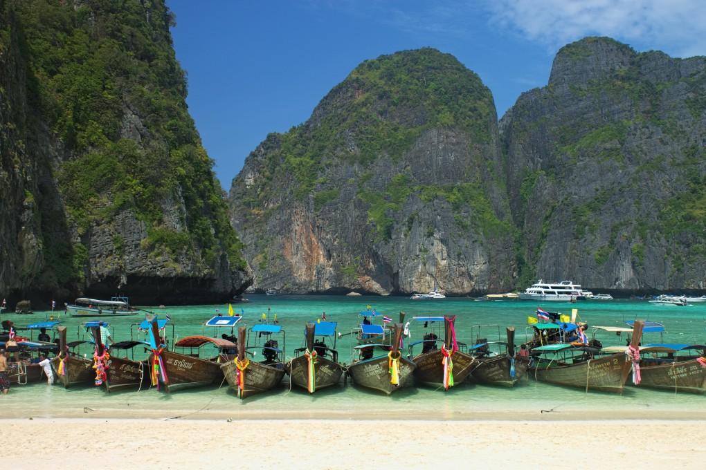 Фото пляжа в Таиланде