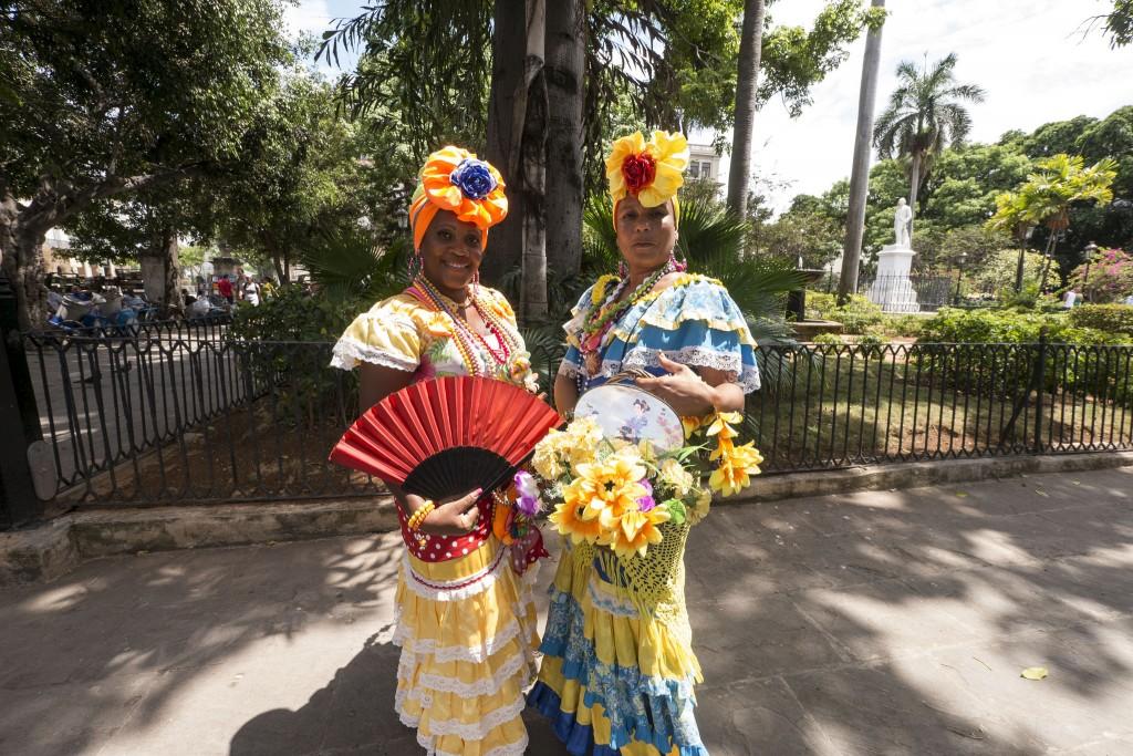 Фото жителей Кубы