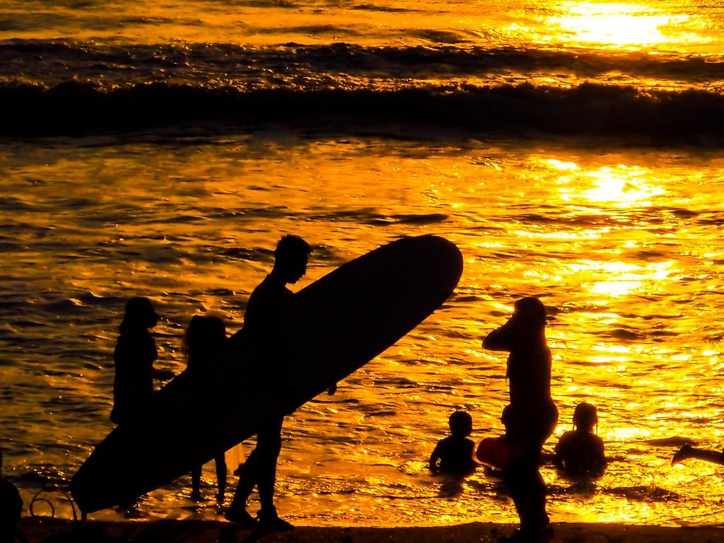 Фото серфинг на Бали