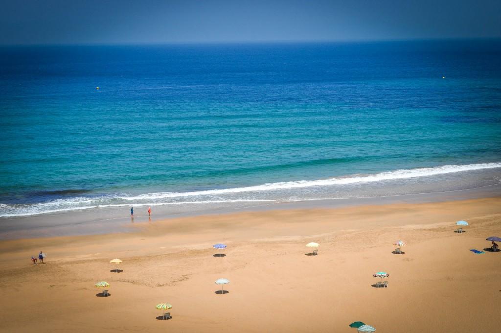 Фото пляжа в Марокко