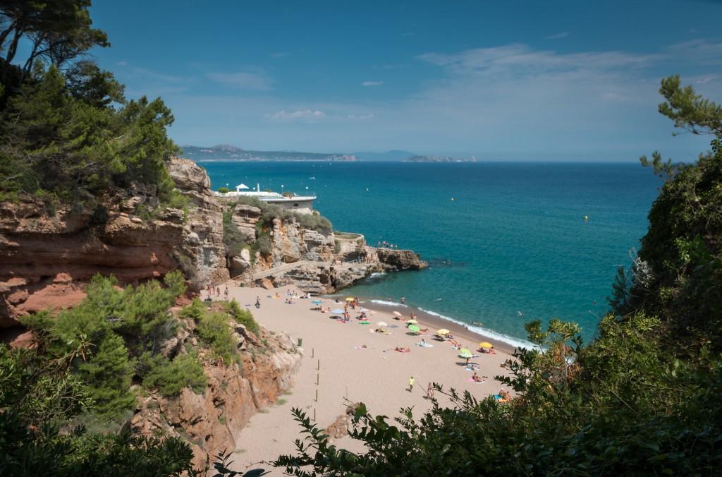 Фото пляжа в Испании