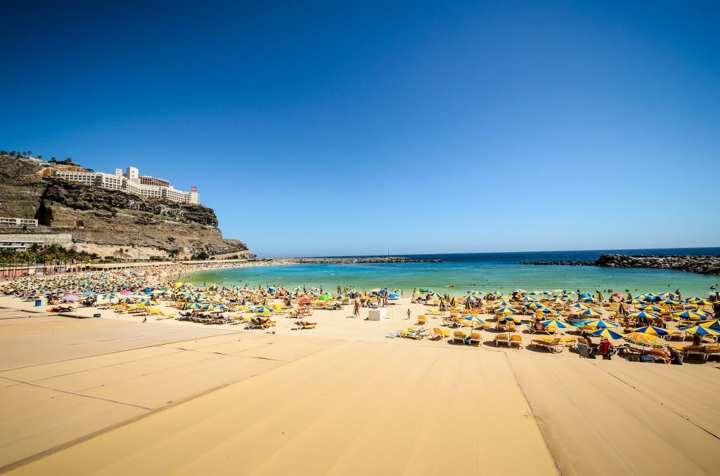 Фото пляжа на Канарах
