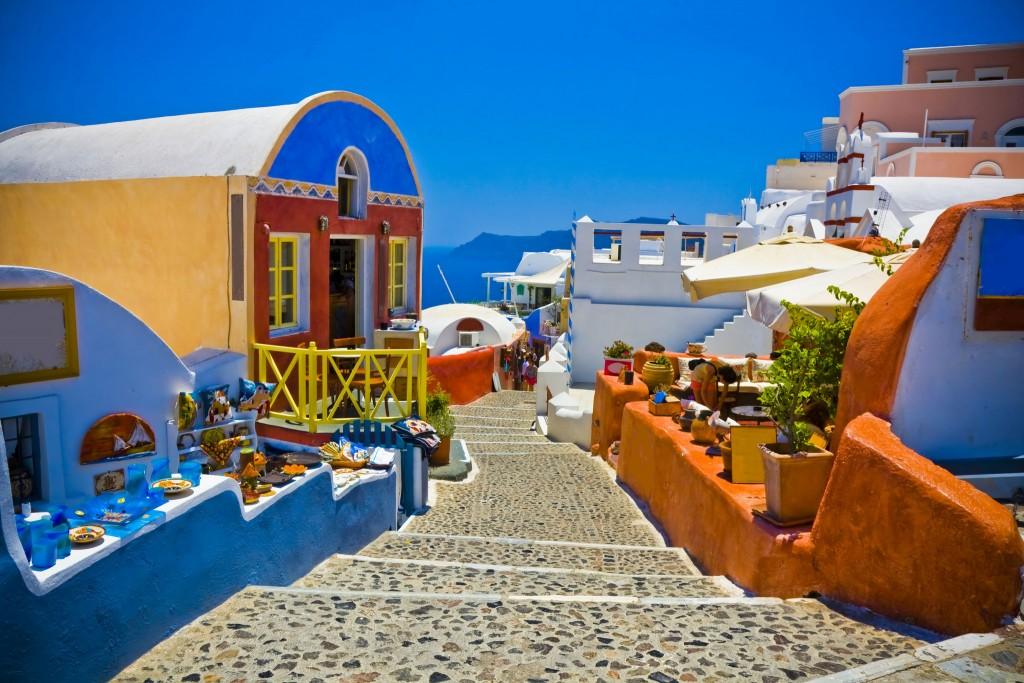 Фото архитектуры Греции (Санторини)