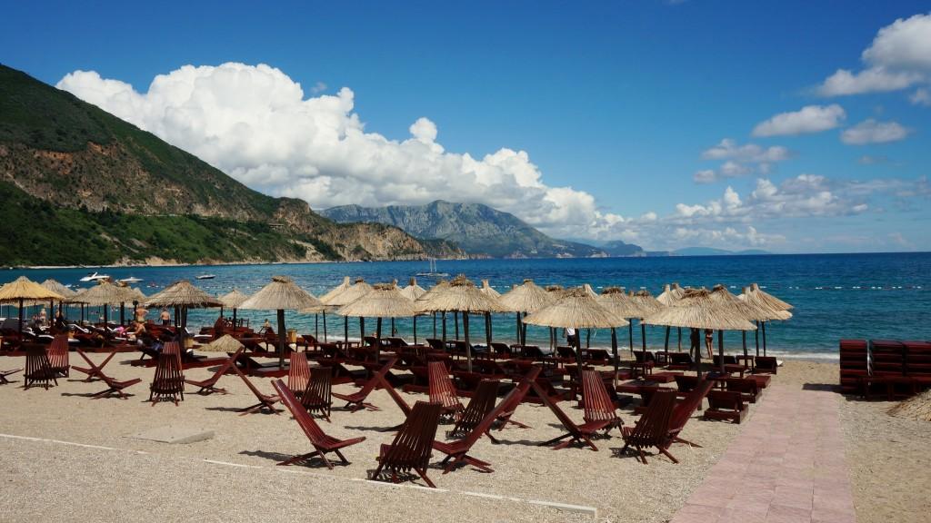 Фото пляжа в Черногории