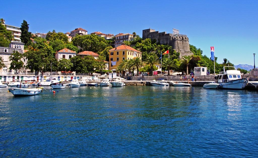 Фото пристани в Черногории