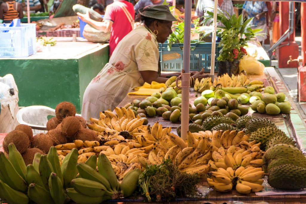 Фото рынка на Сейшелах