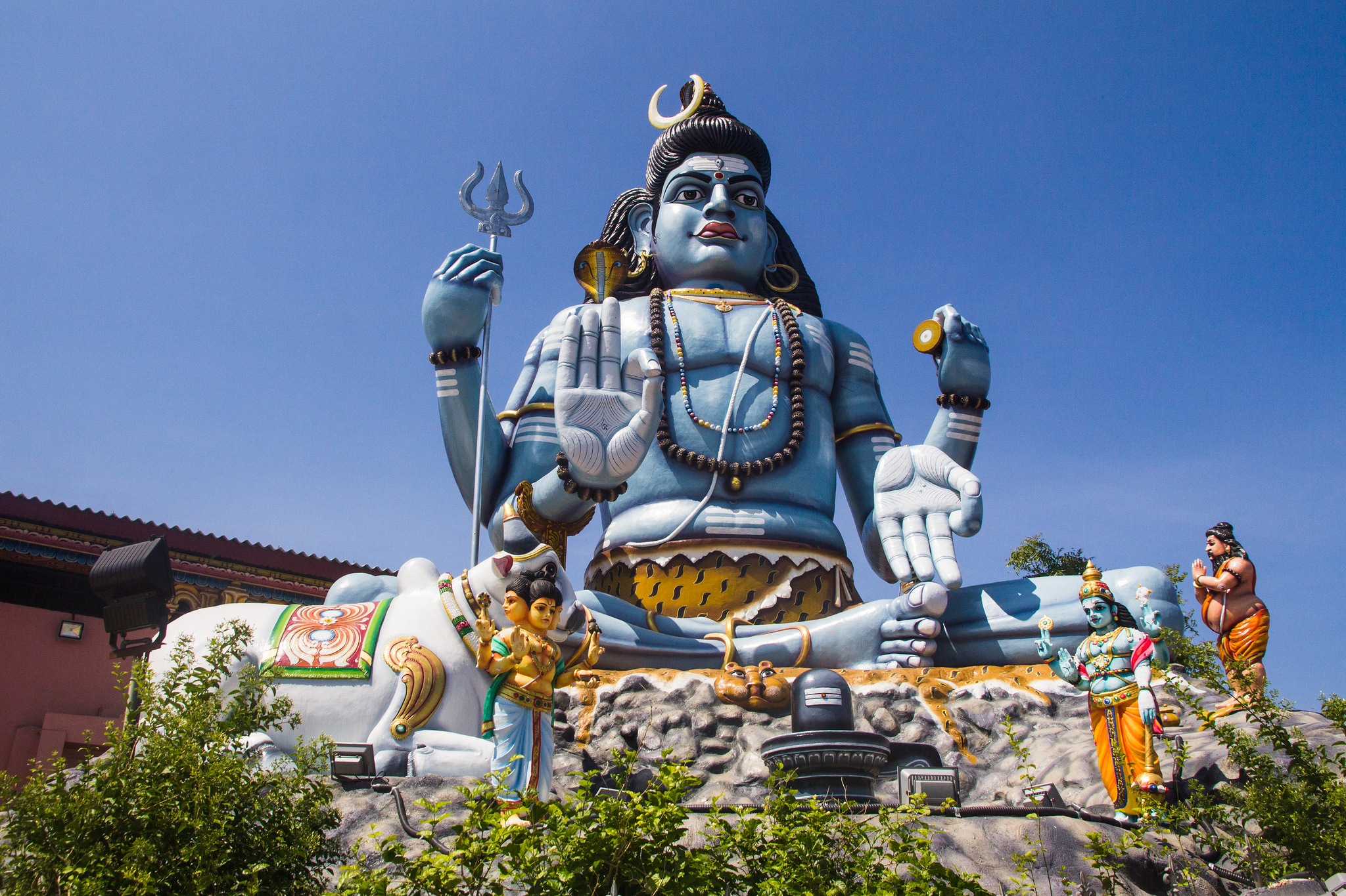 Фото храма на Шри-Ланке