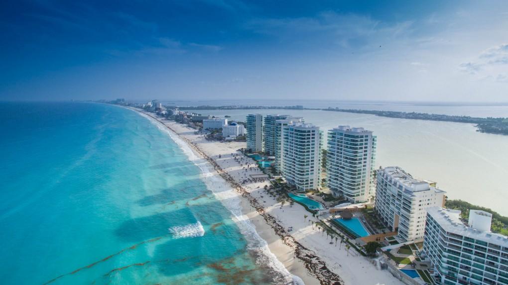 Фото пляжа в Мексике