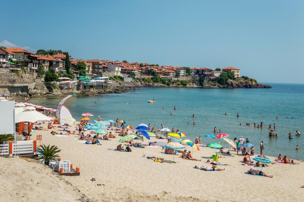 Фото пляжа в Болгарии