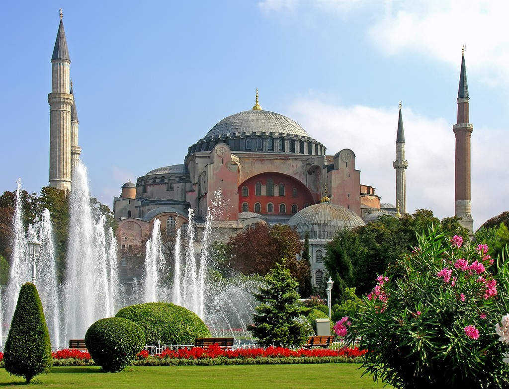 Фото мечети в Турции