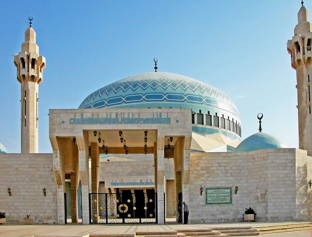 Фото мечети в Иордании