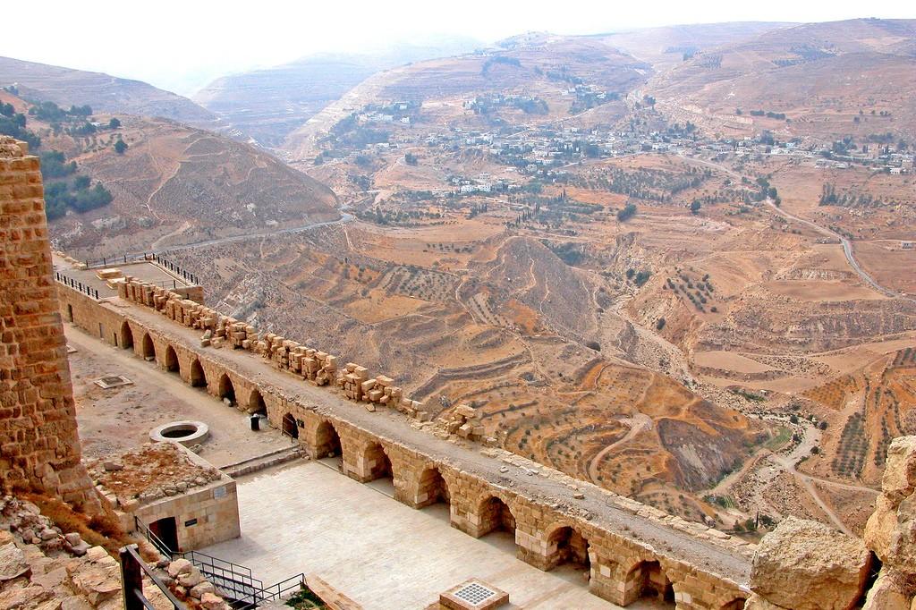 Фото горных пейзажей Иордании