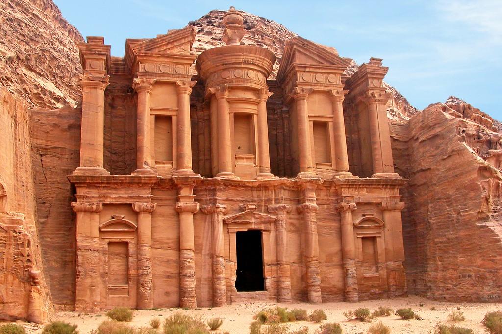Фото города Петра в Иордании