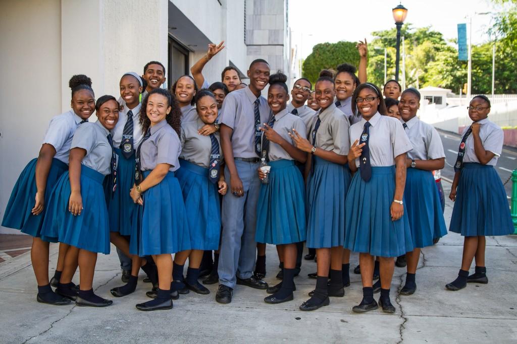 Фото жителей Багамских островов.