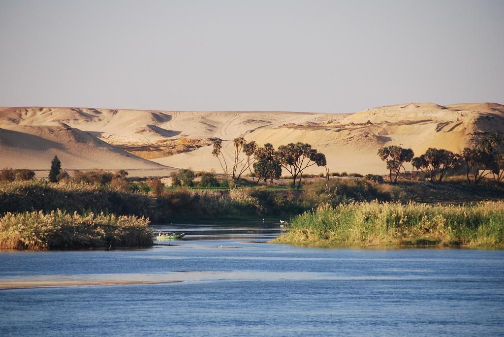 Фото реки Нил в Египте