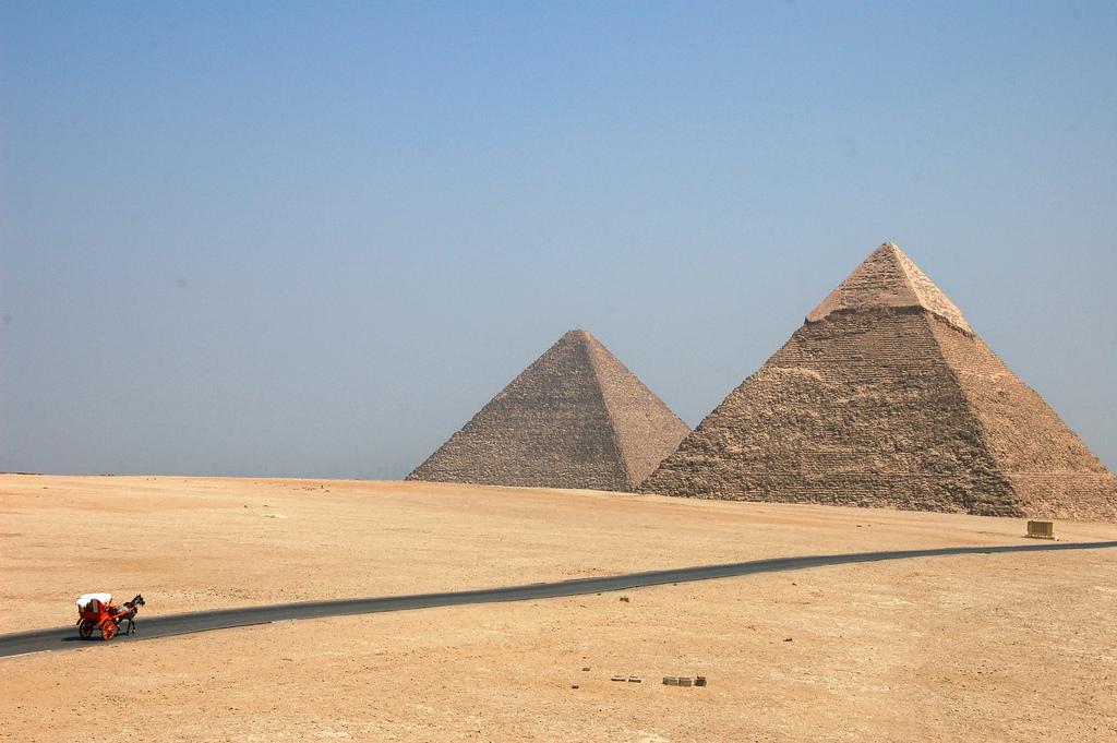 Фото пирамид в Египте