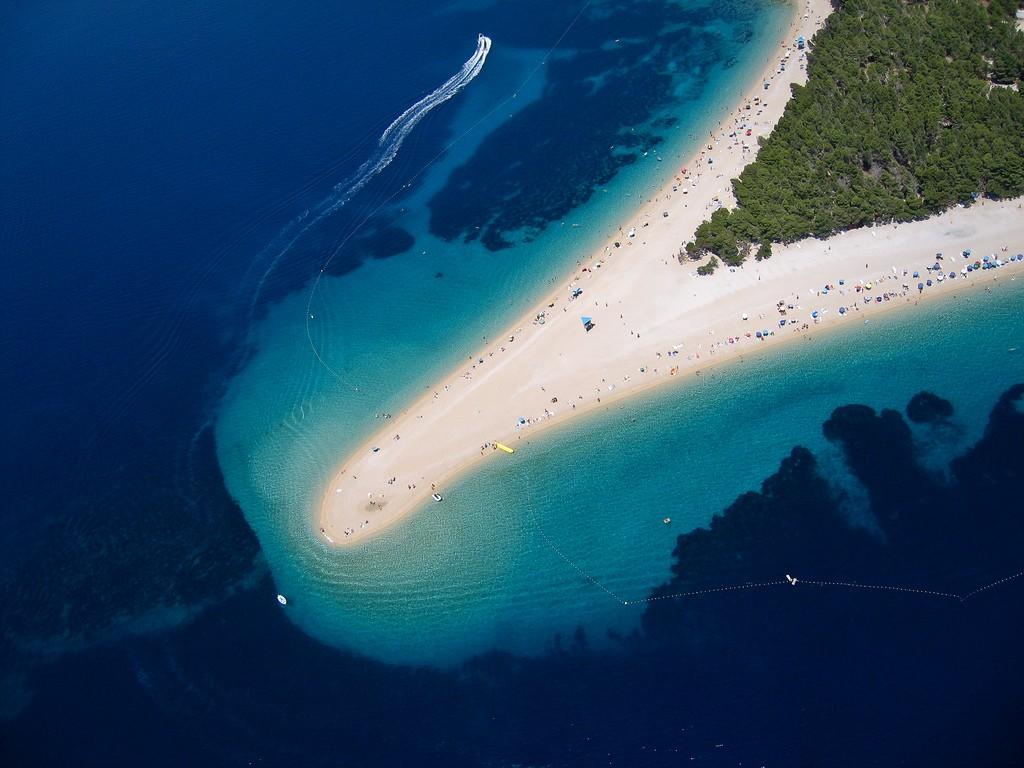 Фото пляжа в Хорватии