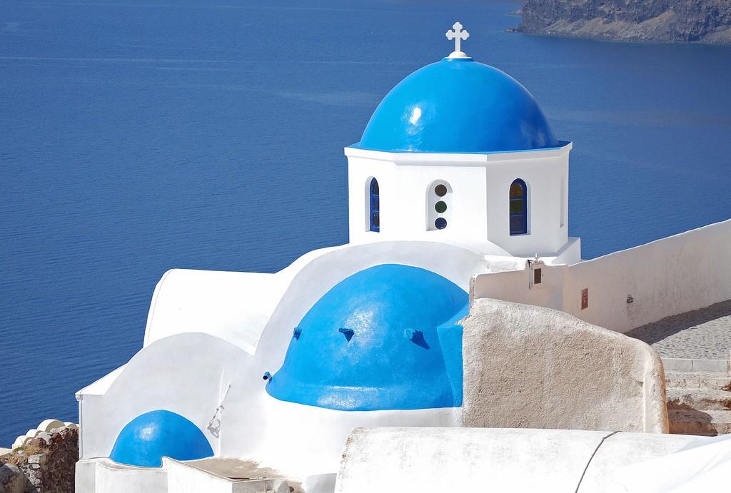 Фото церкви в Греции
