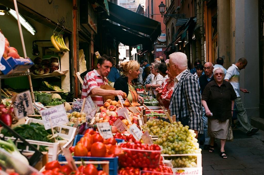 Фото жителей Италии