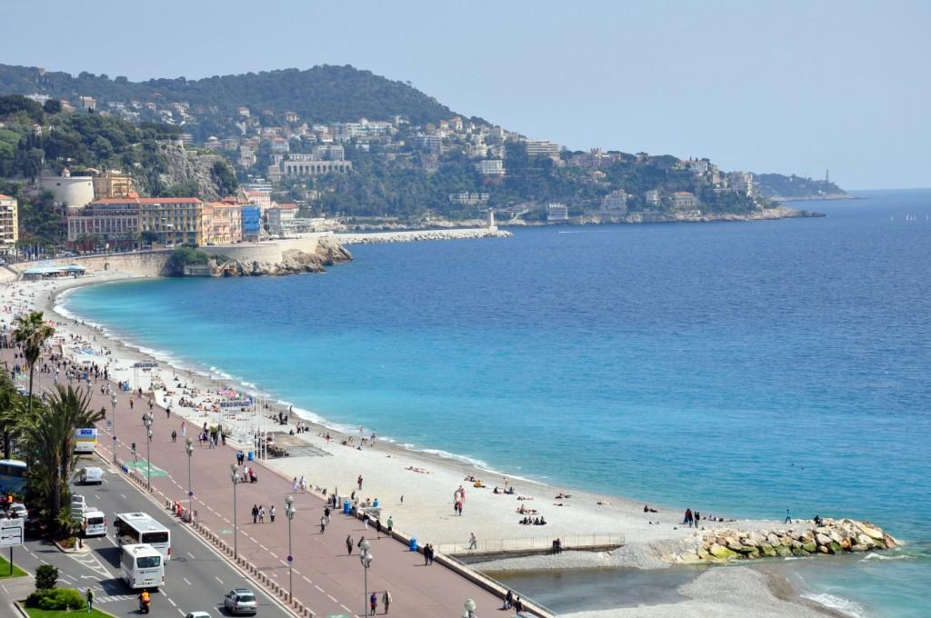 Фото пляжа в Ницце