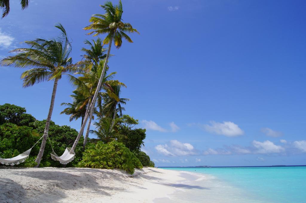 Фото пляжа на Мальдивах