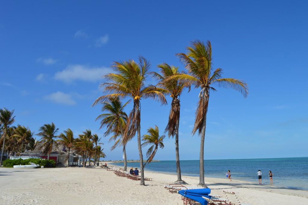 Фото пляжа на Багамах