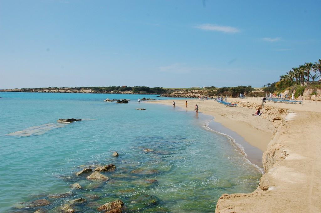 Фото пляжа на Кипре