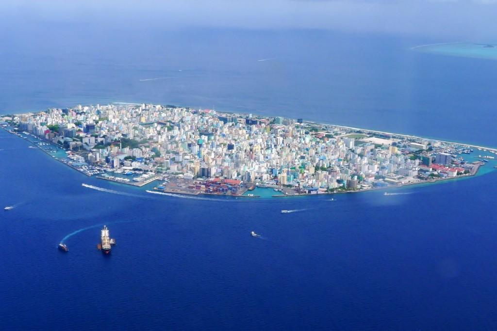 Фото Мале, столицы Мальдив