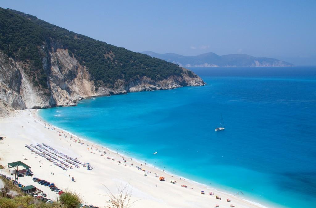 Фото пляжа в Греции