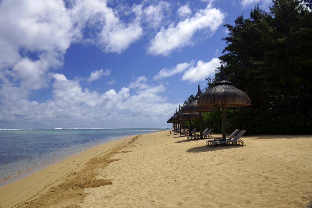 Фото пляжа на Маврикии
