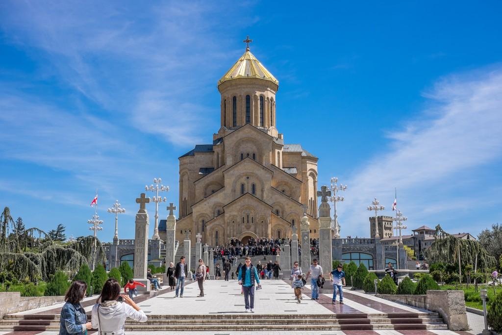 Фото храма в Тбилиси