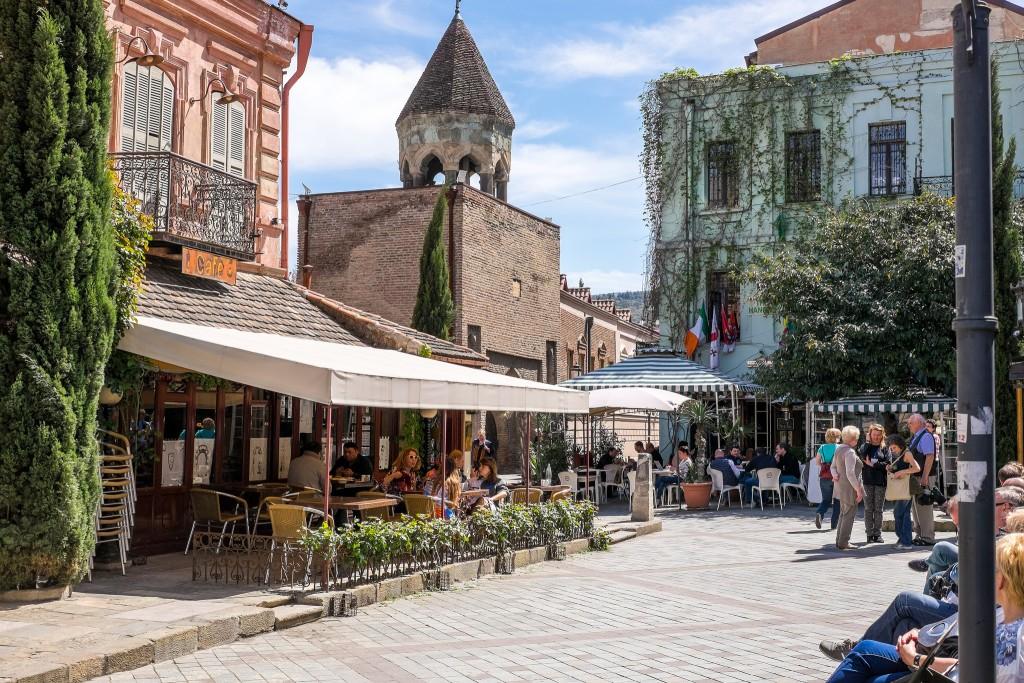 Фото улиц Тбилиси, Грузия