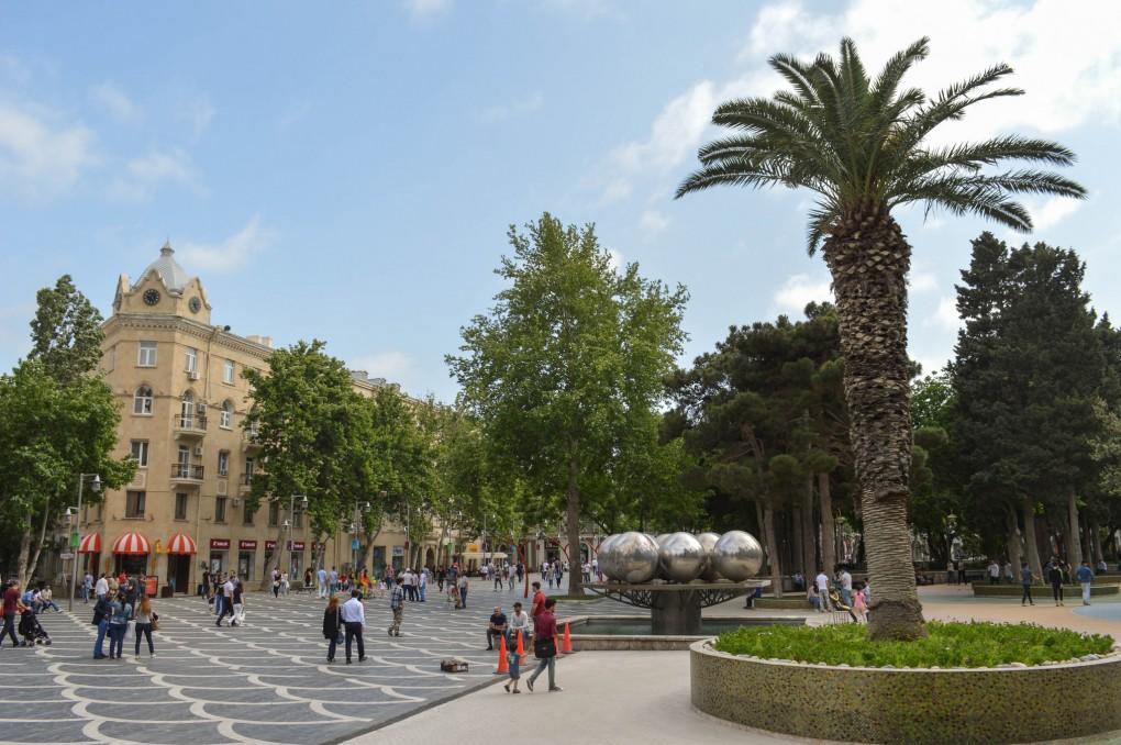 Фото улиц Баку