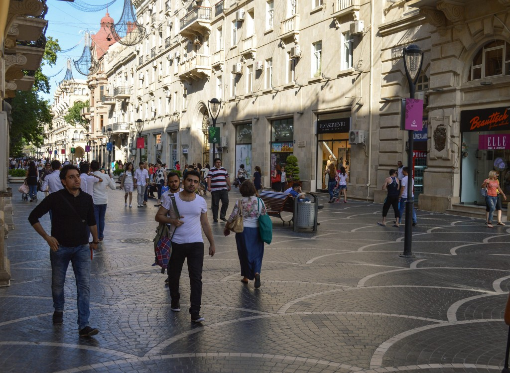 Фото жителей Азербайджана