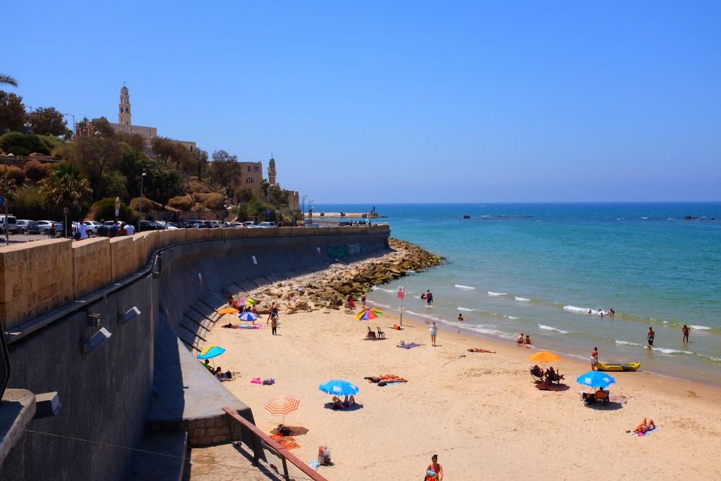 Фото пляжа в Хайфе