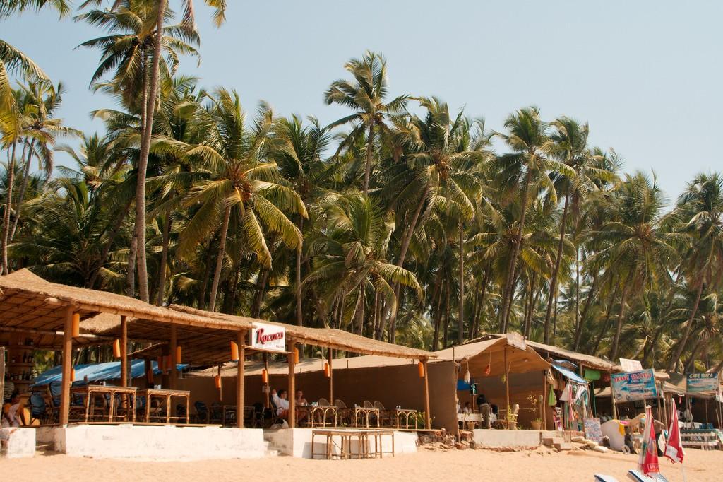 Фото пляжа в Гоа