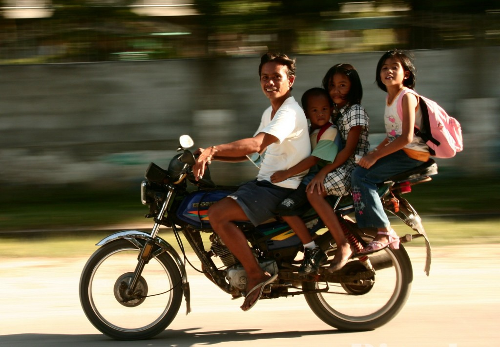 Фото жителей Филиппин.