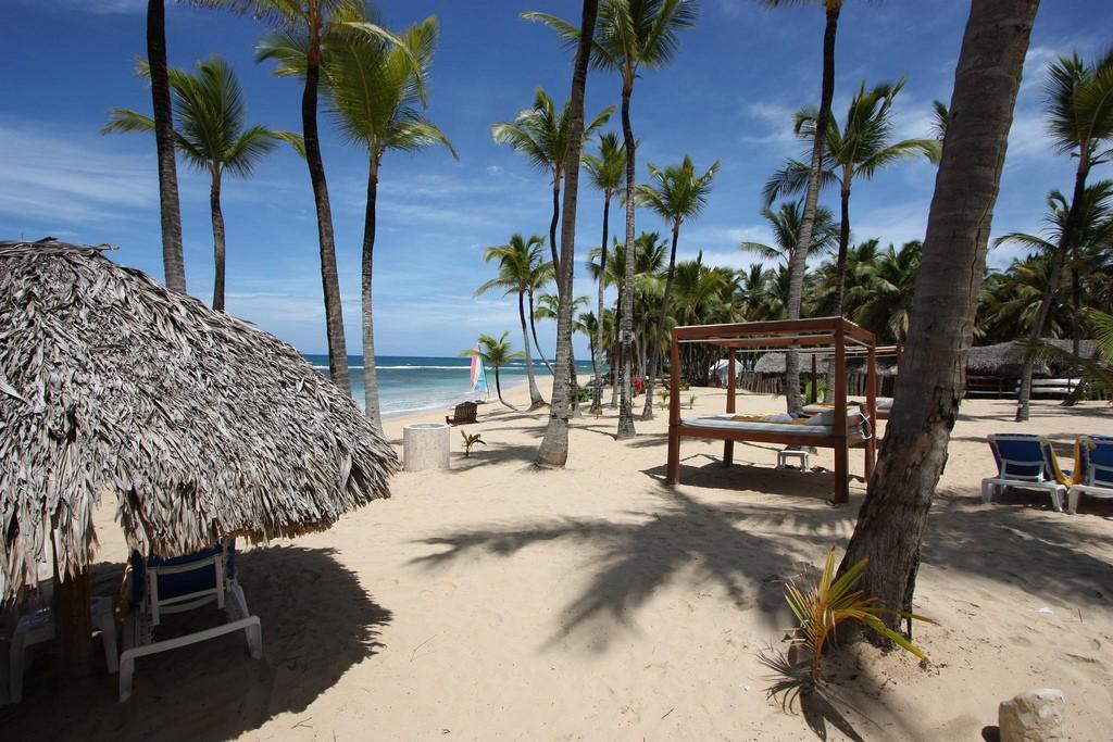 Фото пляжа в Пунта-Кана, Доминикана.