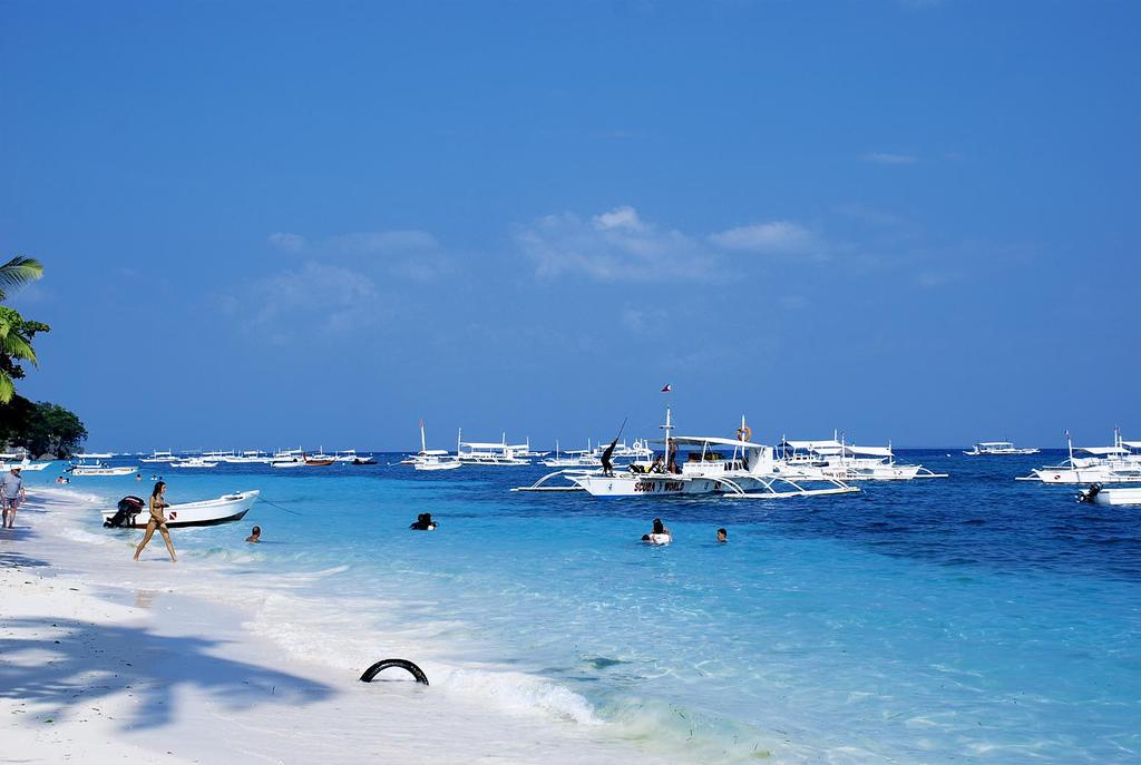 Фото пляжа на Филиппинах.