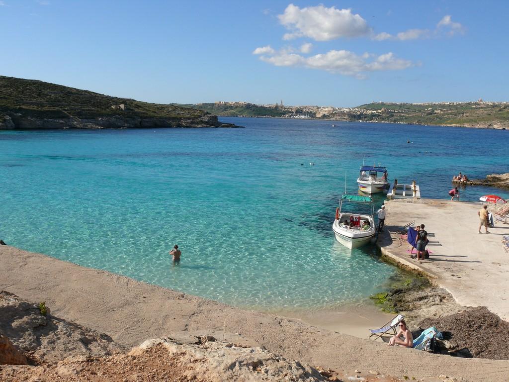 Фото морского побережья Мальты