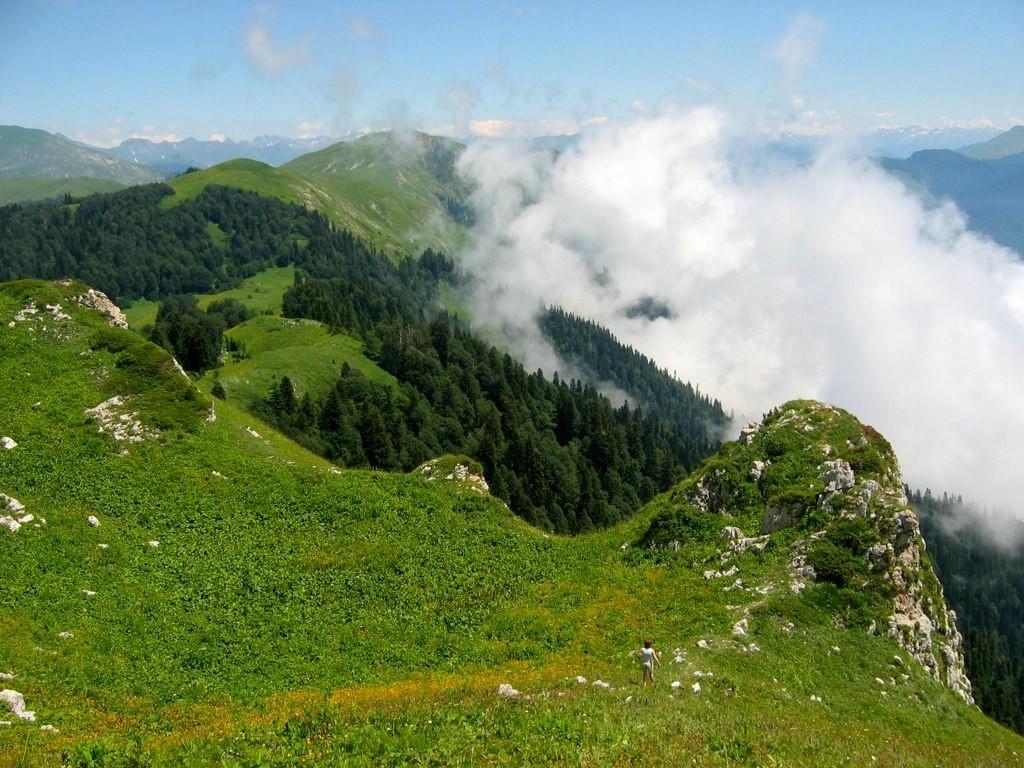 Фото гор Абхазии.