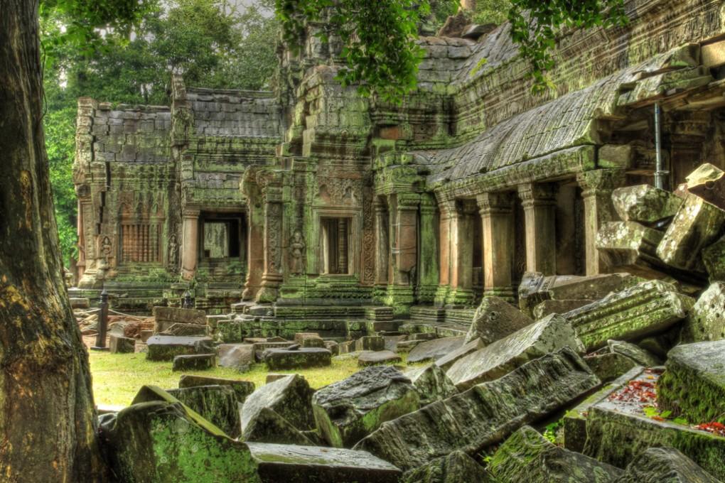 Фото руин храма Ангкор Ват