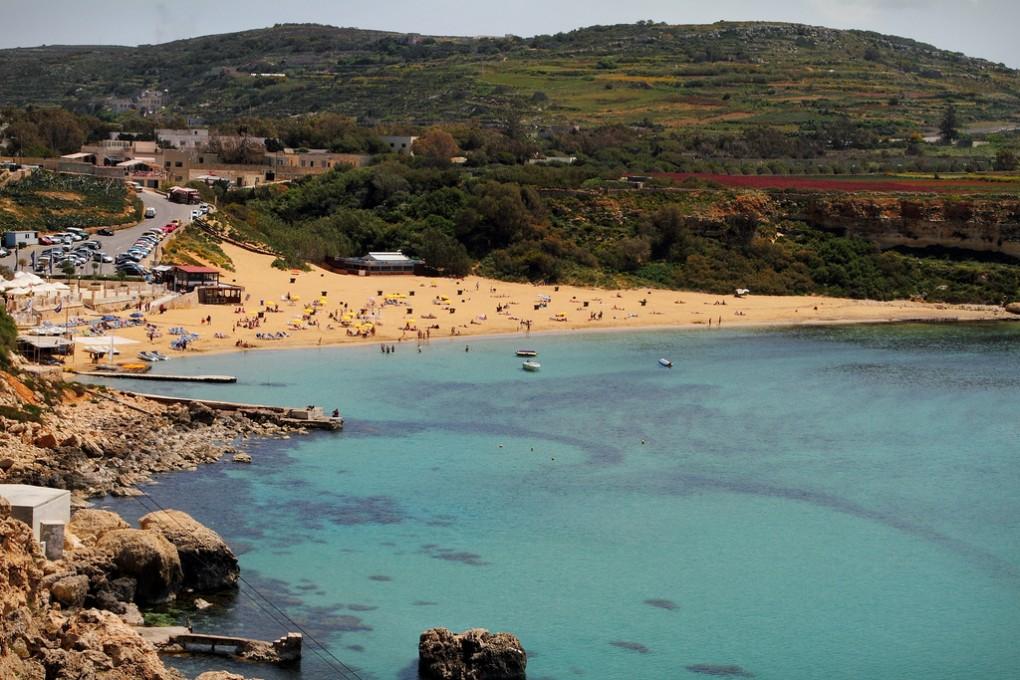 Фото пляжа на Мальте