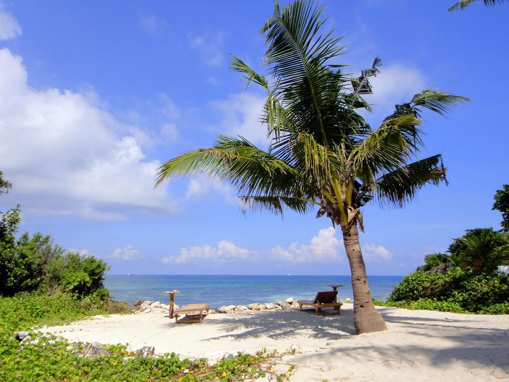 Фото пляжа на Себу, Филиппины.