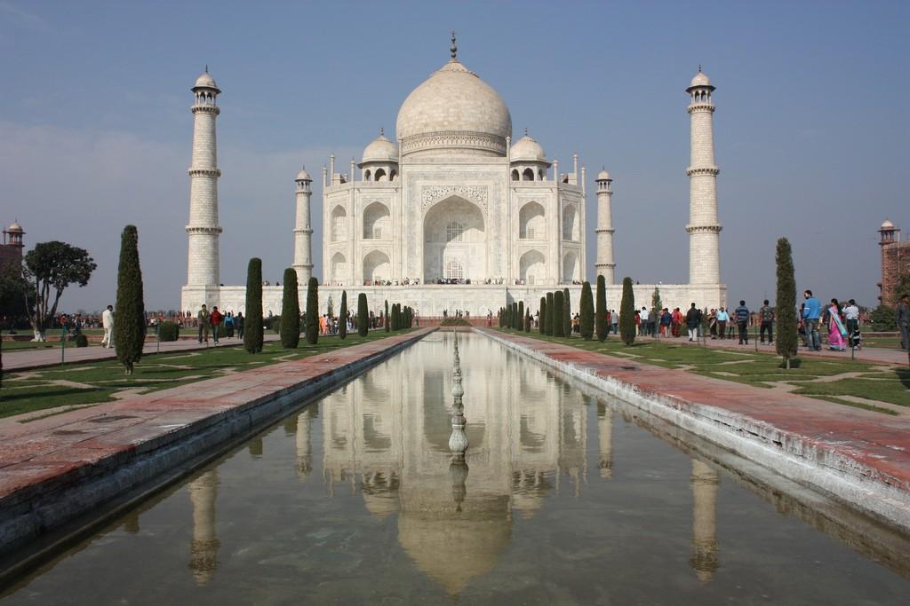 Фото мавзолея Тадж-Махал, Индия
