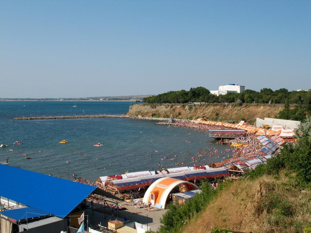 Фото пляжа в Анапе.