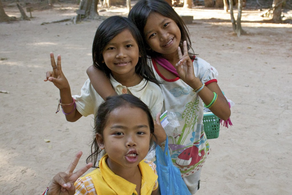 Фото жителей Камбоджи