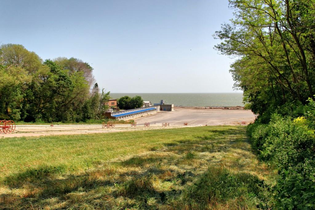 Фото побережья Азовского моря.